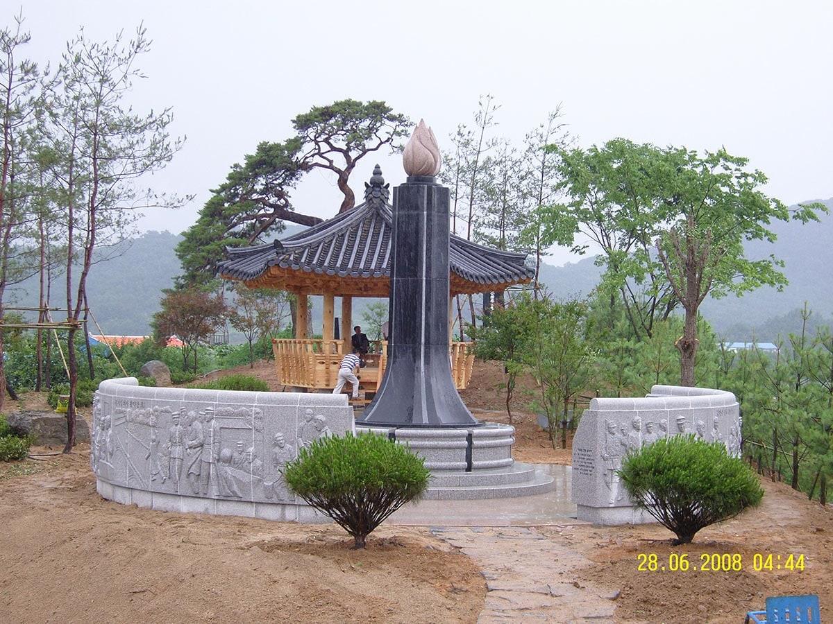 안동 오미광복공원 기념탑05